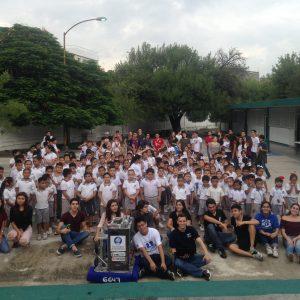 Rally en Escuela Atenedoro Colunga