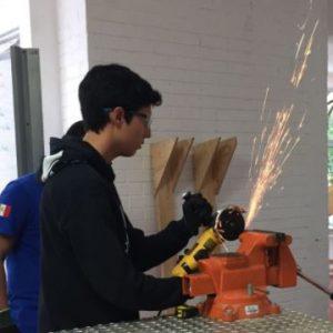 Prototipo de la base del robot